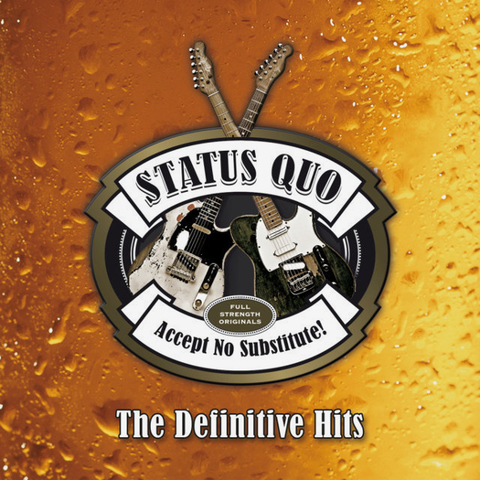 Status Quo / Accept No Substitute! The Definitive Hits (3CD)