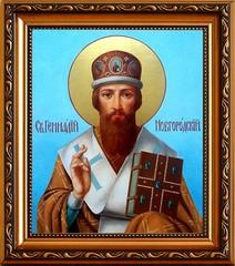 Геннадий Новгородский, Архиепископ, Святитель. Икона на холсте.