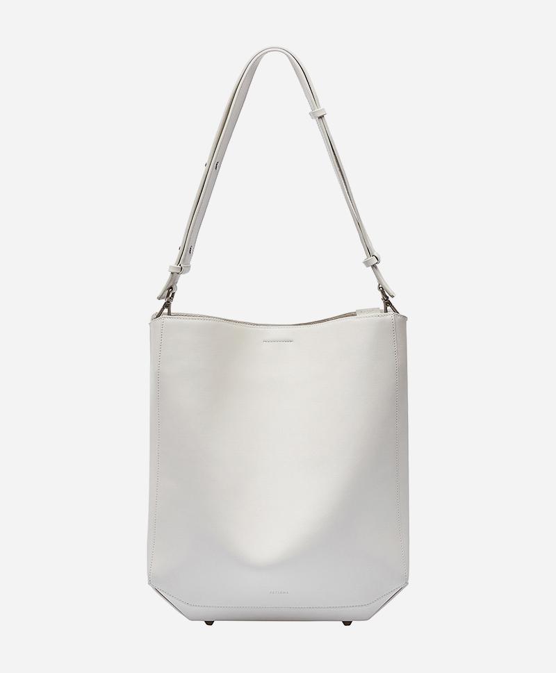 Сумка-шоппер белого цвета