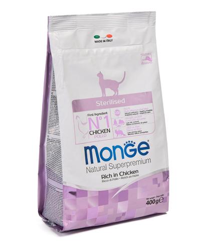 Monge Cat Sterilised корм для стерилизованных кошек  400г
