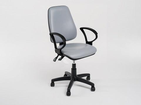 Стул-кресло для персонала на роликовой опоре Престиж (Гранд) - фото