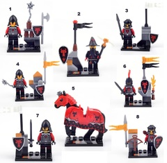 Minifigures Castle Soldiers Blocks Building Series 06