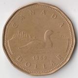 K6068, 1989, Канада, 1 доллар Утка