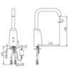 Смеситель для раковины с высоким изливом Oras Electra 6331F