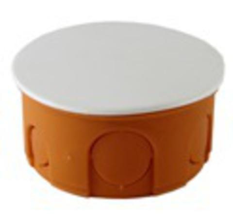 Распаячная коробка СП D80х40мм, крышка, IP20, TDM
