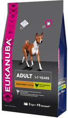 Корм для собак средних пород Eukanuba Dog