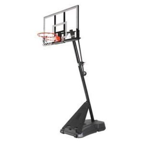 Баскетбольная стойка мобильная, стекло Spalding 54