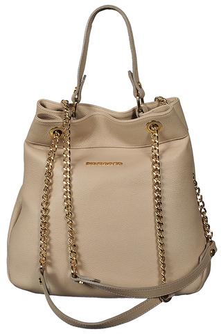 8602/BEIGE сумка женская  DI GREGORIO