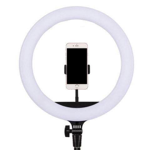Кольцевая лампа для наращивания ресниц LED RING 200 (35 см)