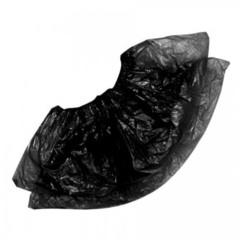 """Бахилы """"Прочные"""" (26 мкм), черные, 100 шт/уп."""