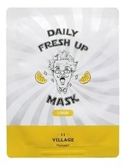 Тканевая маска для лица с экстрактом лимона Daily Fresh Up Mask Lemon 20г