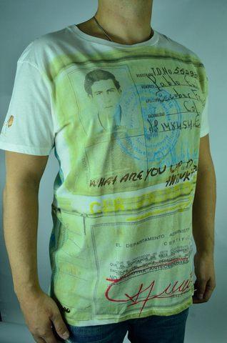 Эксклюзивная дизайнерская футболка Pablo Escobar от Escobar Henao
