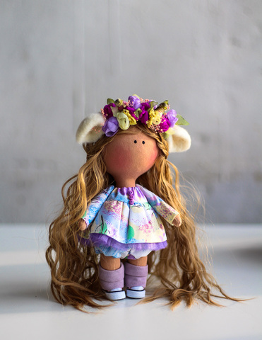 Кукла Миртл. Коллекция Flower doll Flower doll