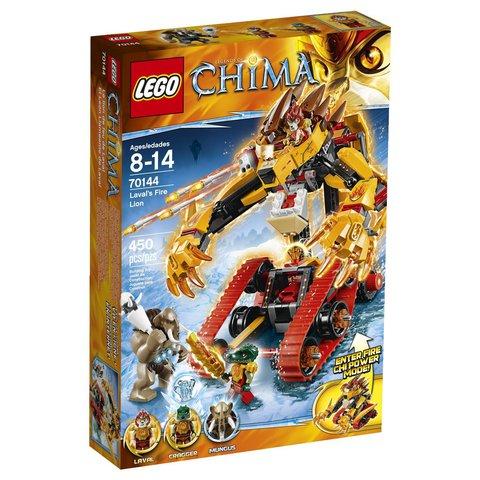 LEGO Chima: Огненный лев Лавала 70144 — Legends of Chima: Laval's Fire Lion — Лего Легенды Чима