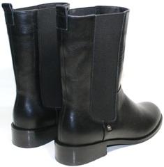 Черные ботинки женские Richesse R-454