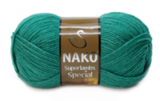 Пряжа Nako Superlambs Special темно-зеленый 181