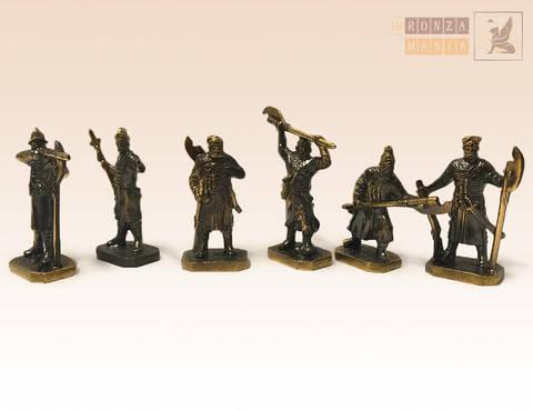 набор солдатиков Стрельцы Древней Руси 6 шт.