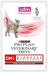 Pro Plan Veterinary Diets DM St/Ox Diabetic menagenent влажный диетический корм для кошек и котов при диабете с говядиной 85 гр