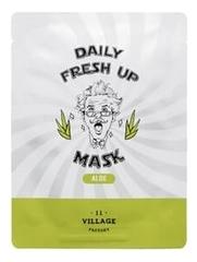 Тканевая маска с экстрактом алоэ вера Daily Fresh Up Mask Aloe 20г