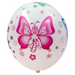 Шар с Цветными Бабочками