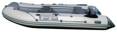 Моторно-гребная лодка RiverBoats RB — 350 (ПВХ, НДНД)