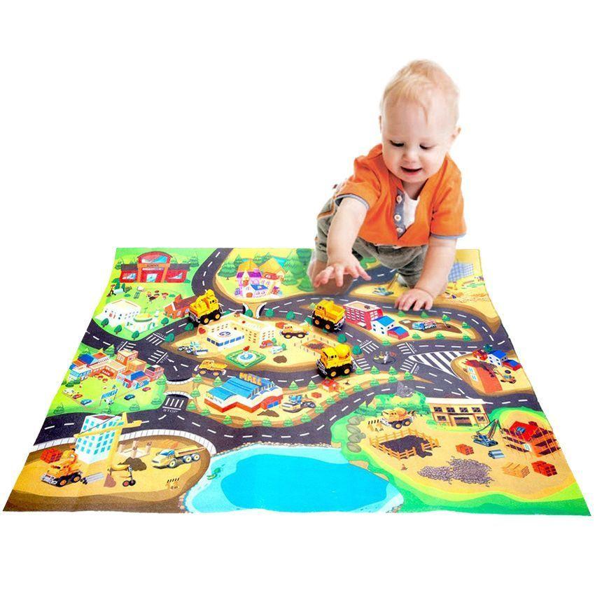 Новинки Развивающий коврик для детей Стройка в городе DE_0156-2.jpg