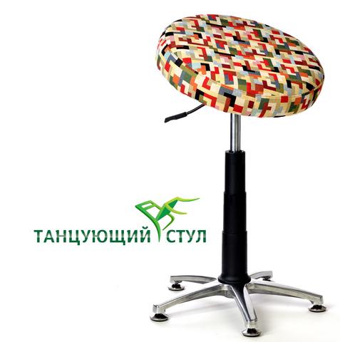 офисный Танцующий компьютерный стул высокий без спинки для высоких людей Стулья для отдыха и работы