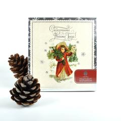 Конфеты Сибирский кедр Новогодний, марципан кедровый 170 г