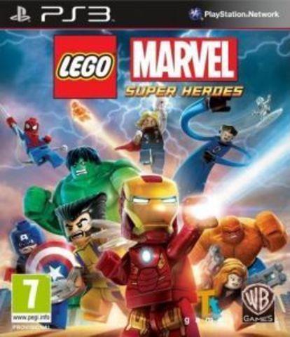 PS3 LEGO Marvel Super Heroes (английская версия)