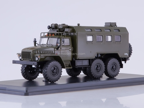 Ural-4320 KUNG (vehicle module system) khaki 1:43 Start Scale Models (SSM)