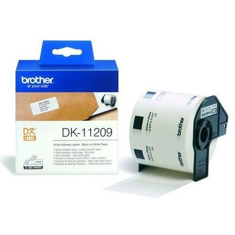 Маленькие адресные наклейки Brother DK-11209 (62 x 29 мм) 800 шт