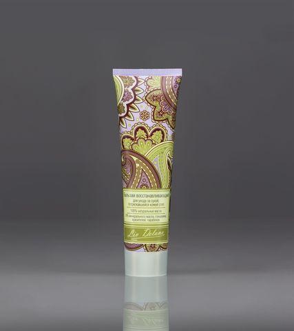 Liv delano Oriental touch Бальзам восстанавливающий для ухода за сухой, потрескавшейся кожей стоп 100г