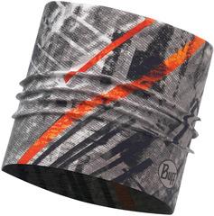 Широкая спортивная повязка Buff City Jungle Grey
