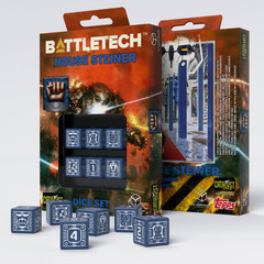 Battletech House Steiner D6 Dice set (6)