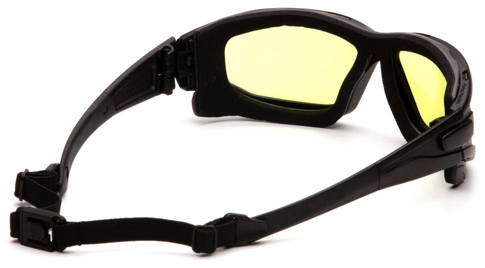 Очки баллистические тактические Pyramex I-Force SB7030SDT Anti-fog желтые 89%