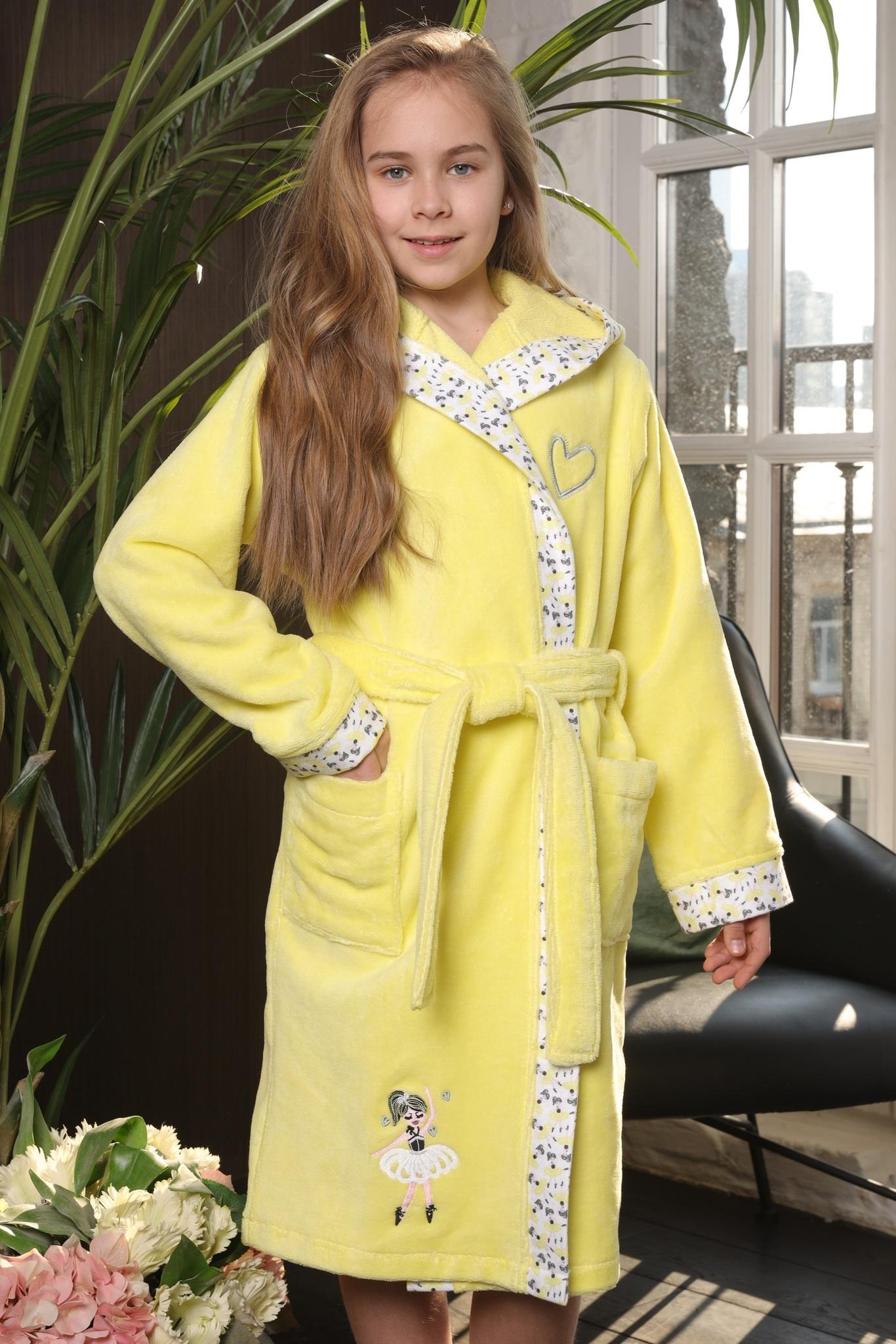 Халаты Balerinka солнышко детский халат для девочки  Five Wien Турция Balerinka__Солнышко.jpg