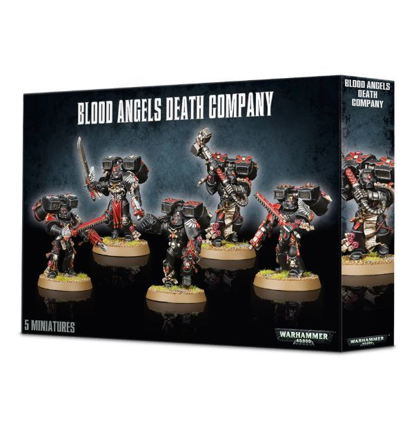 Blood Angels Death Company. Коробка