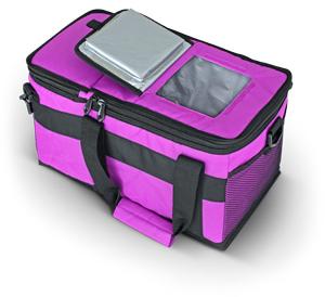 Термосумка Thermos Double Cooler (6+10л.), фиолетовая