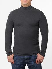 9311-2 водолазка мужская, серый меланж