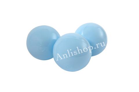 Шар нежно-голубой комплект 50 шт.