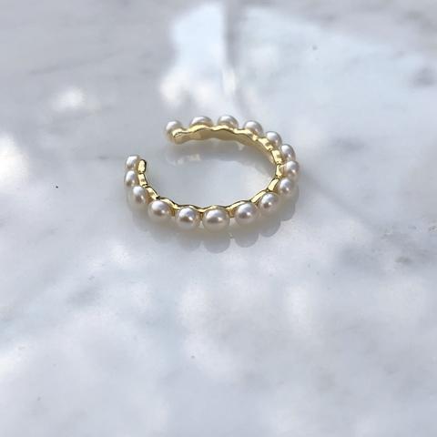 Кольцо Жасмин, позолота
