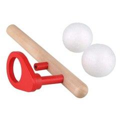 Логопедическая игра, аэробол деревянный