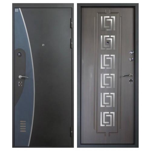 Стальная дверь, Алмаз, H 7 new, Венге