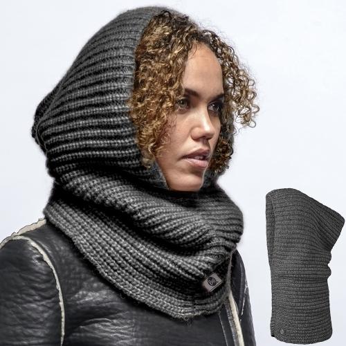 Модный шарф-капор Buff Trapped Grey Darkshadow