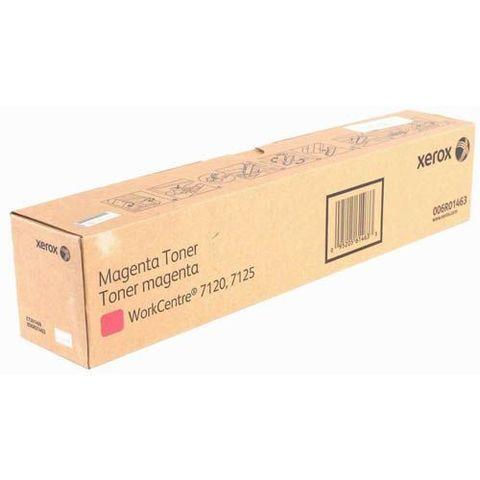 Тонер пурпурный XEROX 006R01463 для WC 7120/7125/7220/7225. Ресурс 15000 страниц