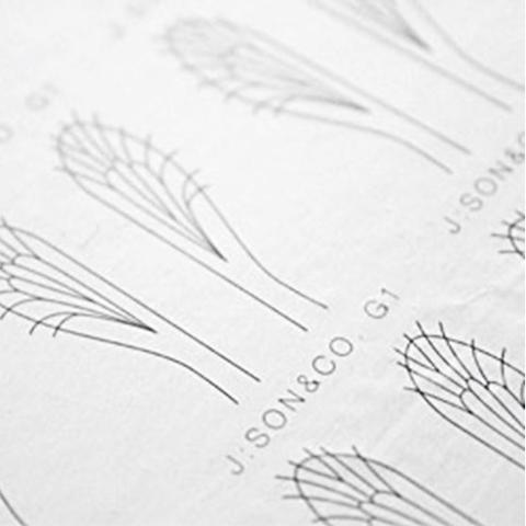 Материал для крыльев J:son&Co Realistic Wing Material Generic (30 пар)