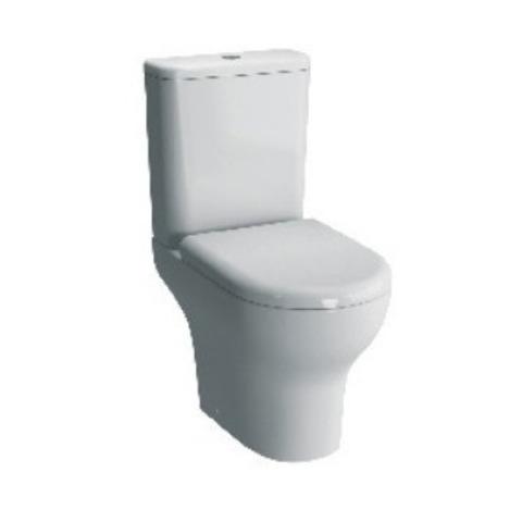 Унитаз напольный с бачком безободковый с сиденьем микролифт Vitra Zentrum 9824B003-7207