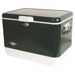 Термоконтейнер Coleman 54Qt Steel Belted Cooler Green