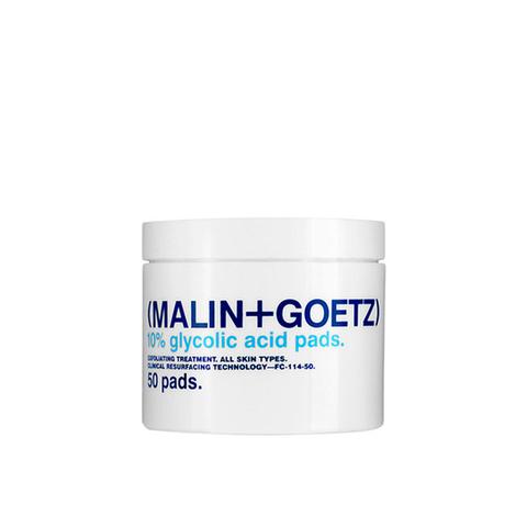 Очищающие и отшелушивающие диски с гликолевой кислотой 10% Glycolic Acid Pads