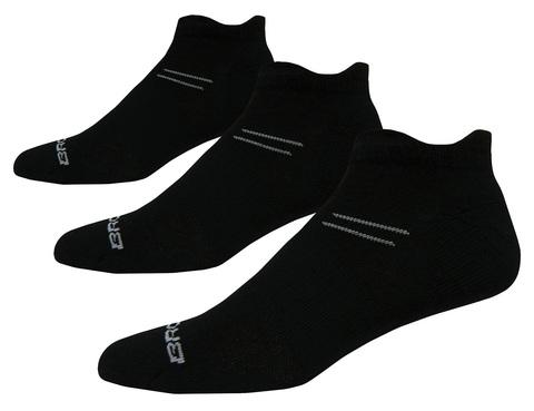BROOKS VERSATILE DOUBLE TAB комплект беговых носков черные